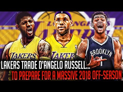 Why The D'ANGELO RUSSELL TRADE Helps The Lakers For A MASSIVE 2018 OFF-SEASON!