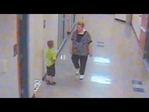 Caught on tape: Teacher roughs up student