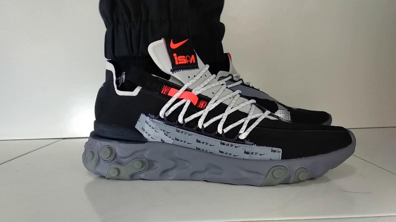 Nike React WR ISPA Black