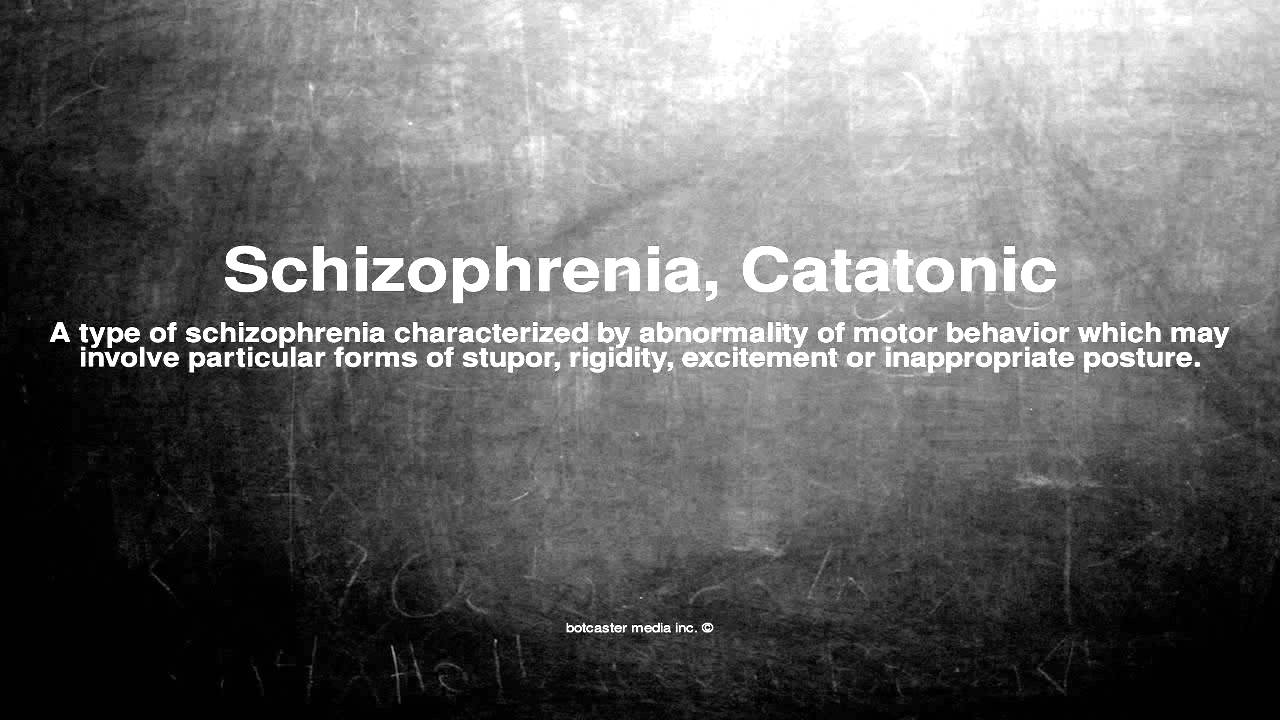 Catatonic Rigidity