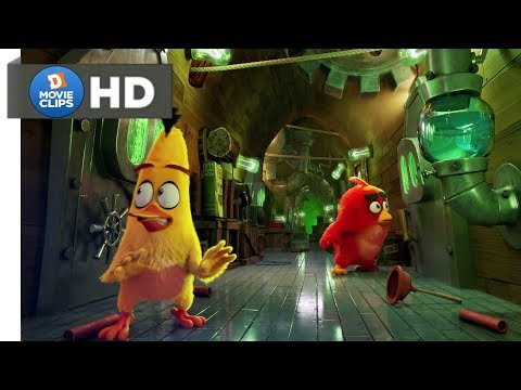The Angry Birds Movie Hindi (06/14) Spying Ship Of Pigs Scene MovieClips