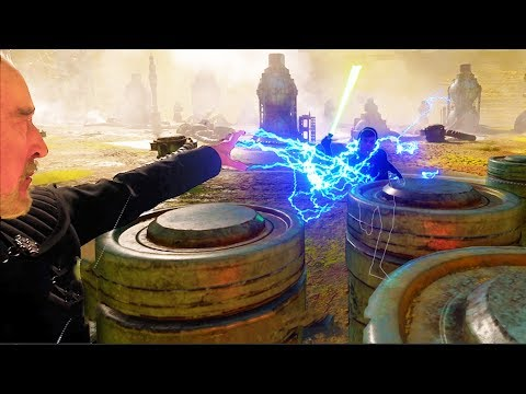 Count Dooku Force Lightning Montage! - Star Wars Battlefront 2 thumbnail