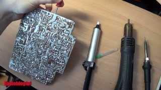 Как выпаять микросхему тремя разными способами(Видео урок о том как выпаять микросхему в DIP корпусе тремя способами. С помощью оловоотсоса, медицинской..., 2014-03-29T06:24:48.000Z)