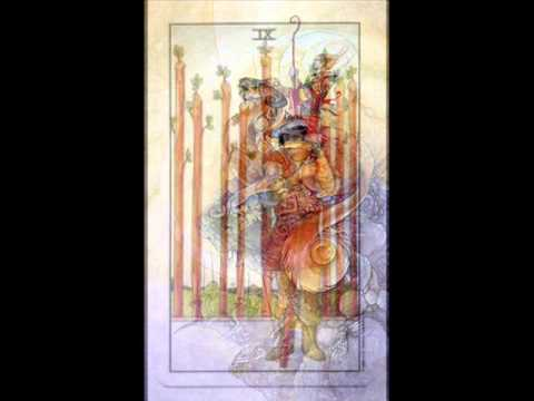 9 of cups and 4 wands relationship