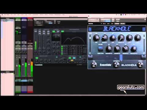Eventide Blackhole + UltraChannel - Cosmic Guitar!