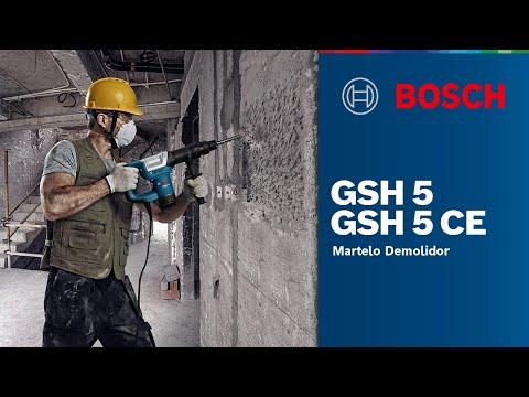 Einzigartig Martelo Demolidor GSH 5 e GSH 5 CE - YouTube VV05
