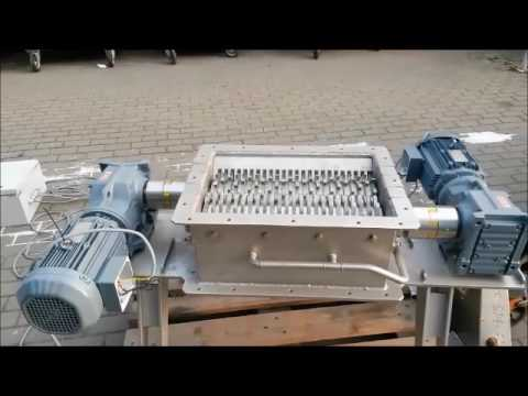 Fish crusher, schredder for onboard/ onshore; fish waste and other products