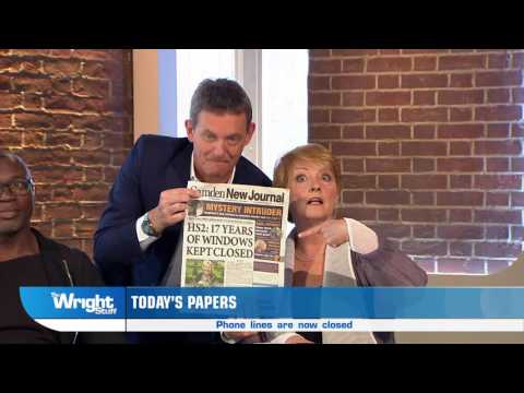 The Camden New Journal on The Wright Stuff