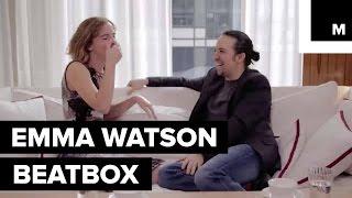 Watch Emma Watson Beatbox for Lin-Manuel Miranda's Rap on Gender Equality