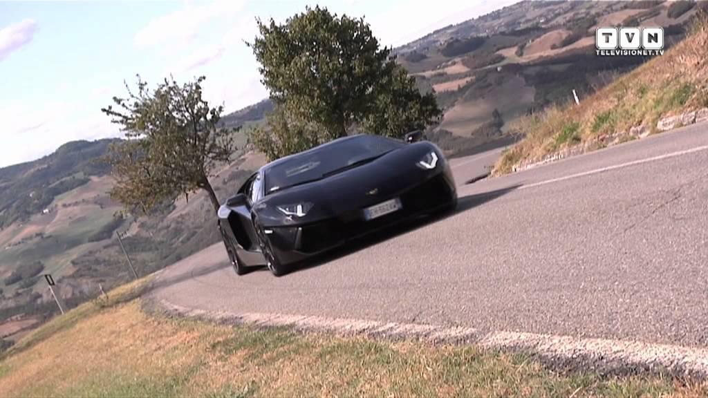 Lamborghini Aventador L Altra Dimensione Della Velocita Youtube