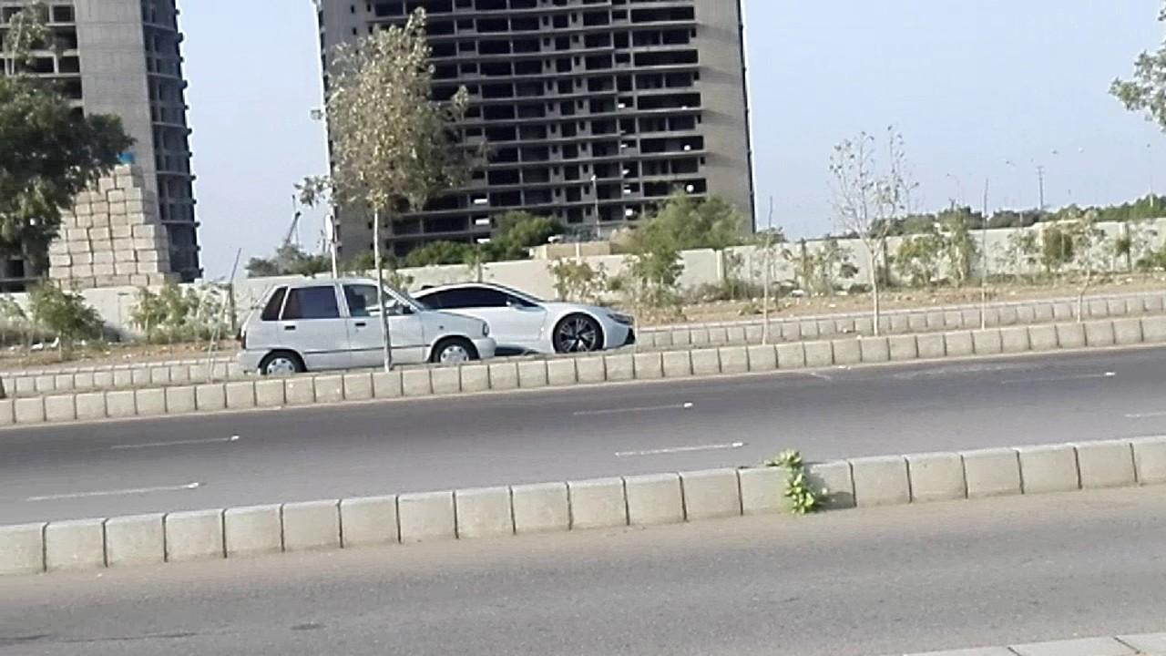 Bmw I8 Spoted In Karachi Pakistan