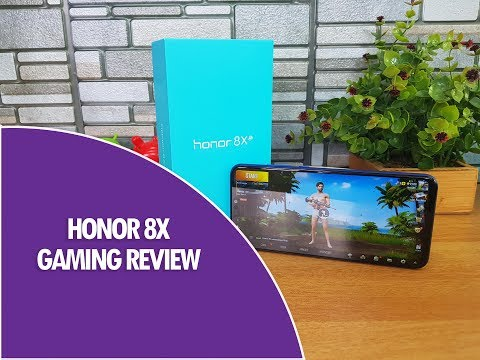Honor 8X Gaming Review with PUBG Mobile HD and Asphalt 9, Heating and Battery Drain