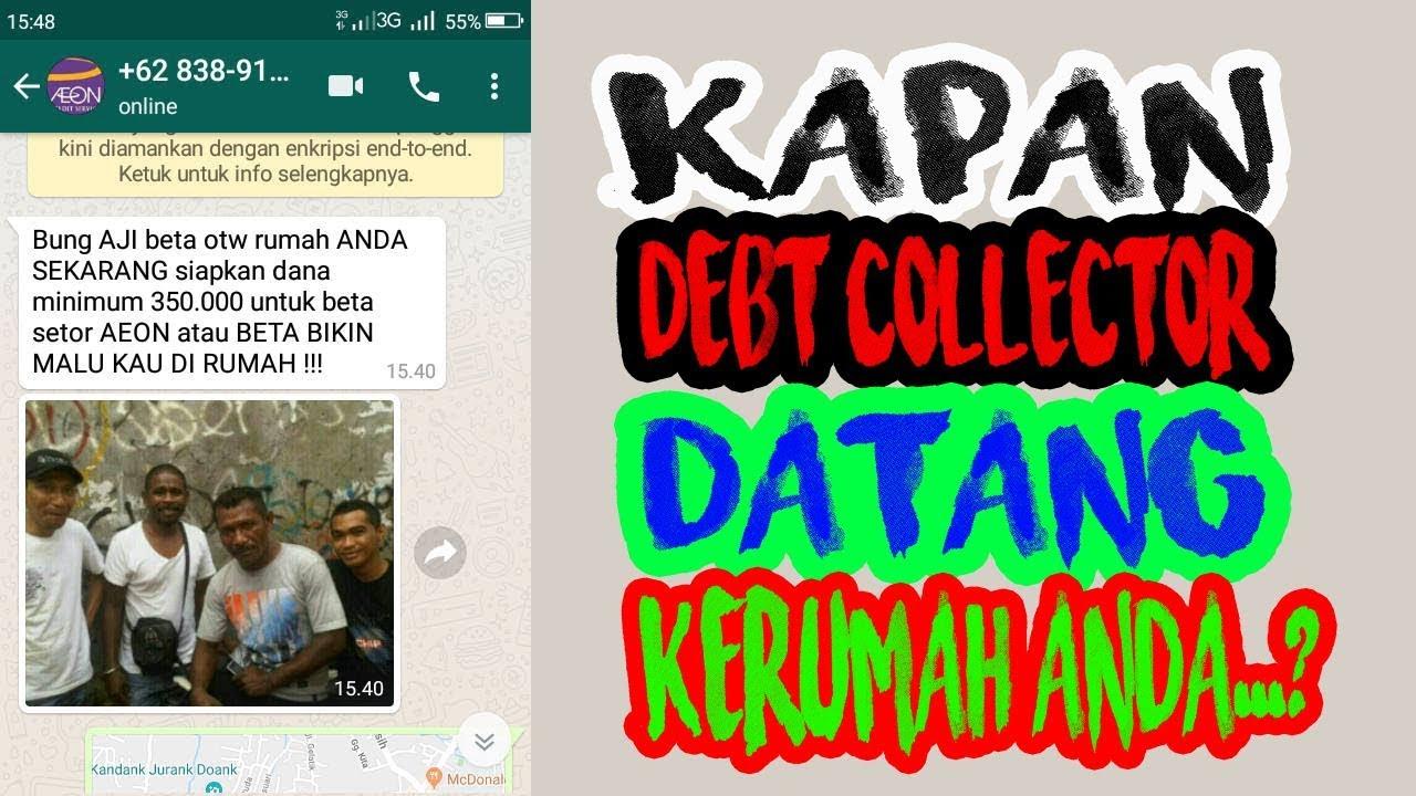 kapan Debt Collector Pinjol datang kerumah anda..?? - YouTube