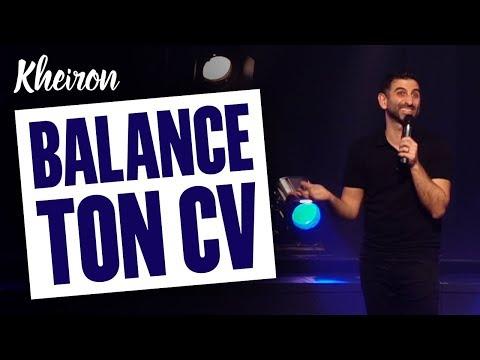 60 MINUTES AVEC KHEIRON - BALANCE TON CV