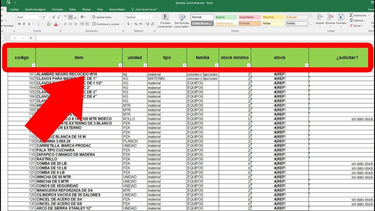 Excel Como Fijar Filas En La Parte Superior Inmovilizar Filas O Columnas Youtube