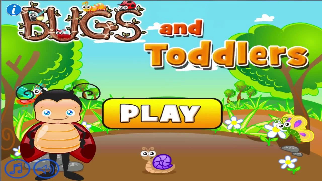 Bugs And Toddlers Free Preschool Learning Games For Boys
