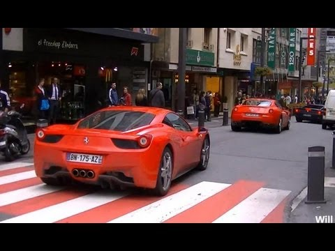 1 Day in Andorra la Vella with a Ferrari Event