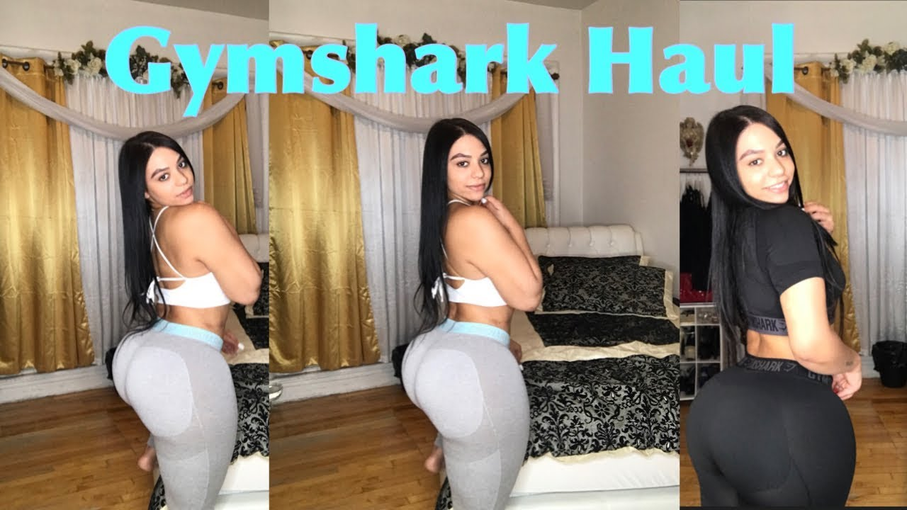 GYMSHARK TRY ON HAUL @iluvmarlenynunez