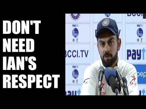 Virat Kohli replies on Ian Healy's 'Respect' jibe, Watch video | Oneindia News
