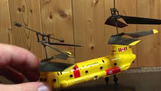 RC Helicopters have too short of a shelf life..