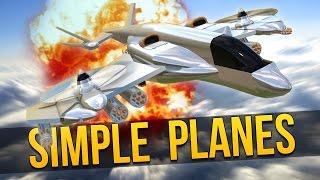 simpleplanes biggest nuke let s play simpleplanes simple planes gameplay
