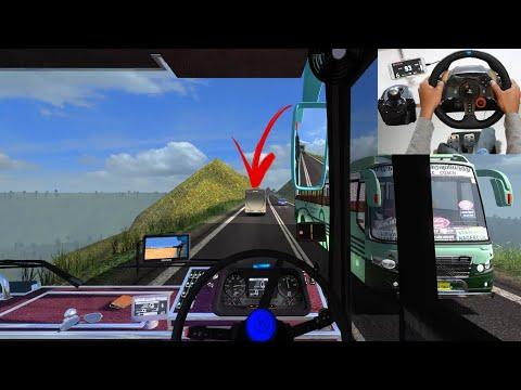 SETC Bus Driver Found Crazy Driver | Euro Truck Simulator 2 With Maruti Bus Mod | Indian Driver