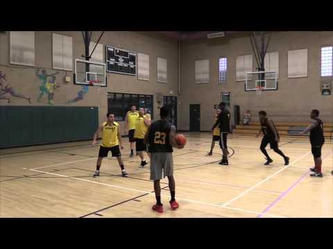 Community Services Adult Basketball League Championship, No Fear Vs  WSH & B, 2015 Spring D League