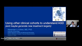 FNNDSC Lecture Series with Guest Speaker Alexander Cohen, MD, PhD