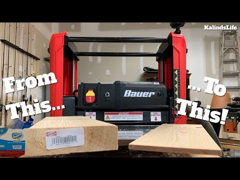 bauer-planer-from-harbor-freight-tools-review!