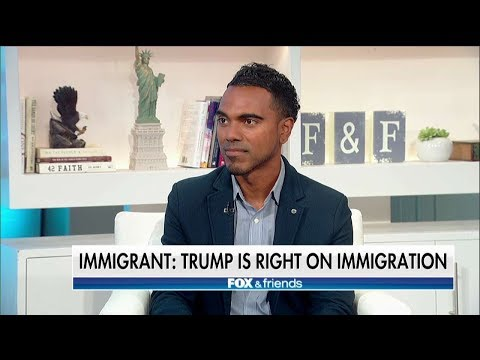 Legal Immigrant Defends President Trump's Immigration Policies