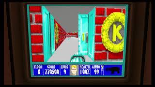 Wolfenstein 3D Episode 5 Floor 8