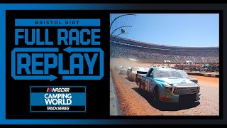 Pinty's Truck Race On Dirt from Bristol Motor Speedway | NASCAR Truck Series Full Race Replay