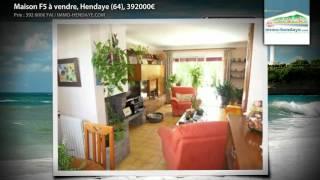Maison F5 à vendre, Hendaye (64), 392000€(, 2012-07-08T15:05:58.000Z)