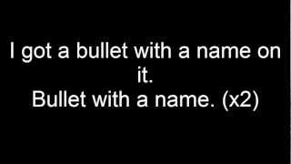 (LYRICS) Nonpoint - Bullet With a Name