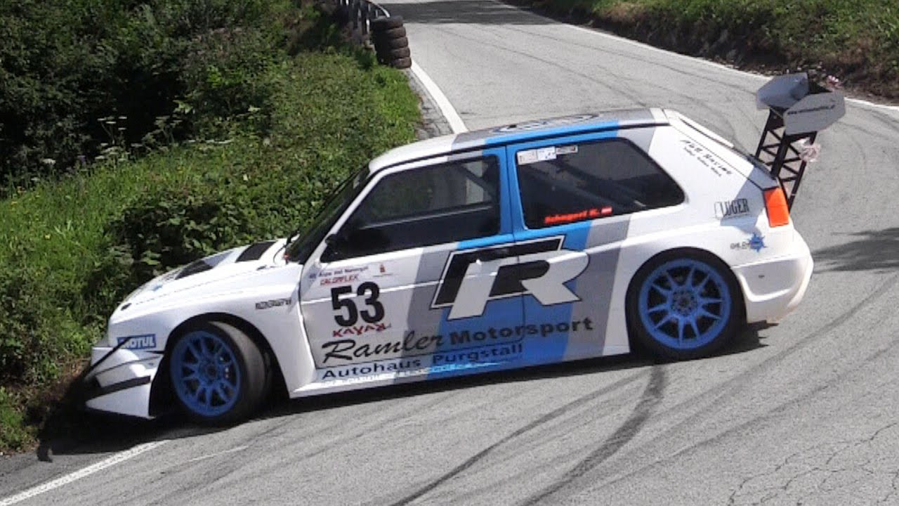 Karl Schagerl 500hp Vw Golf Rallye Turbo Alpe Del