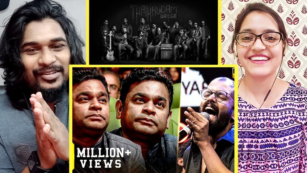 THAIKKUDAM BRIDGE'S BEST live tribute REACTION | Rahman is emotionally awestruck! | SWAB REACTIONS