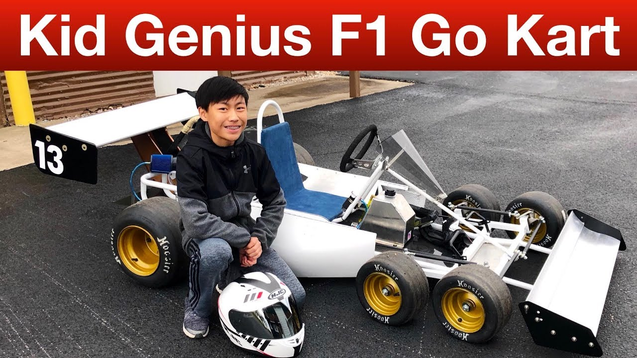 This 13-Year-Old Genius Designed a Formula 1-Inspired, Six