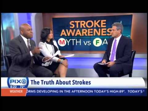 Dr. Dennis Goodman NYU Cardiologist with Stroke Prevention Tips #cardiology