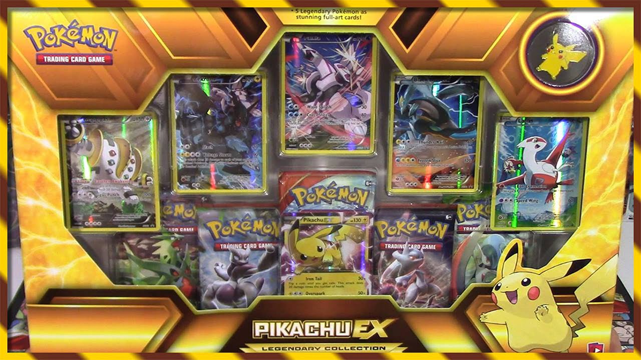 Pokemon Cards Pikachu Ex Legendary Collection Box Opening Super Early