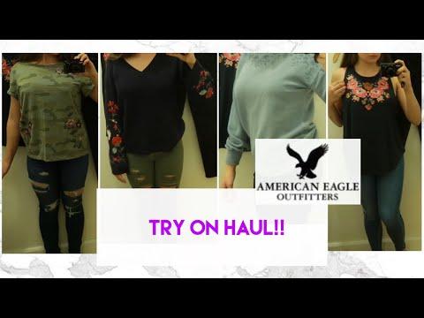 American Eagle Teen Girl Try On Haul | Women's Clothing