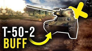 BUFF DLA T-50-2 i TAJNY CZOŁG PREMIUM - World of Tanks