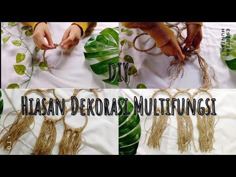 diy: hiasan dekorasi multifungsi (gantungan hijab) diy low
