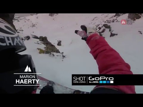 Gopro run marion haerty - xtreme verbier - swatch freeride world tour 2016