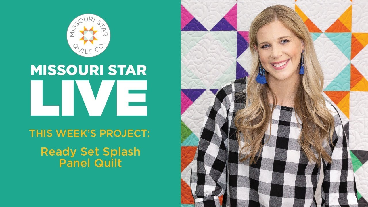 LIVE: Beat the summer heat and stitch up a Ready Set Splash panel quilt with Misty Doan!