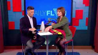 """Thomesa Lydon on Daily Flash national morning show """"Mistakes to avoid when Downsizing"""""""