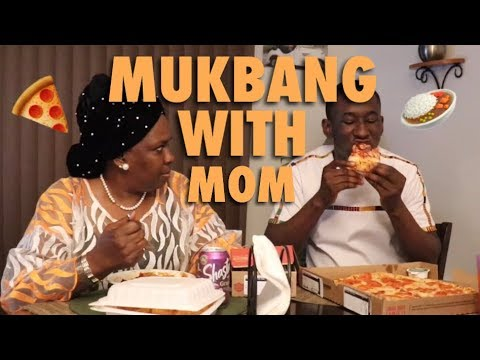 Mukbang with my Mom