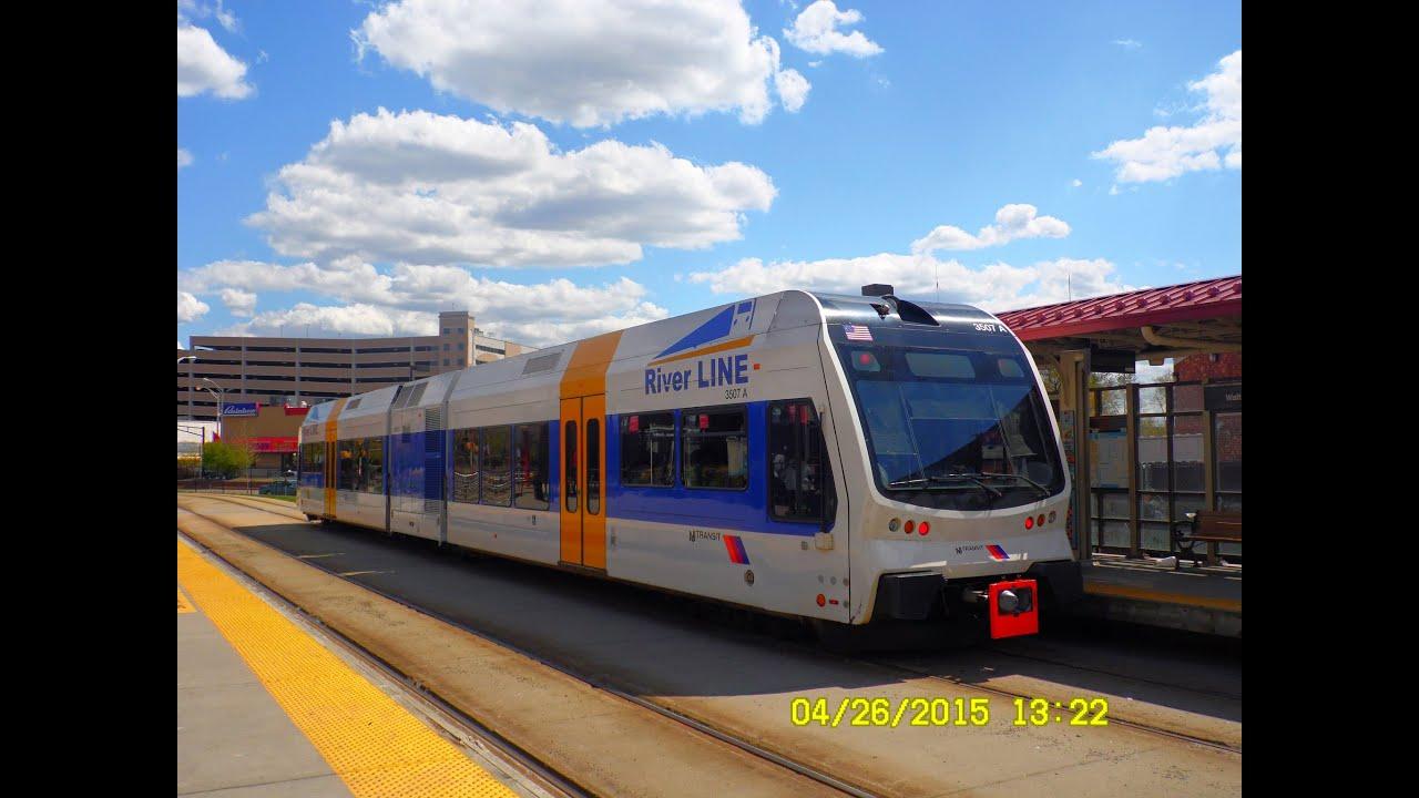 🚊 💺 New Jersey Transit  River LINE Light Rail to Trenton... FULL ... a7c5b599b3c