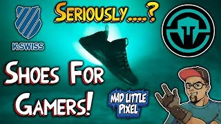 Performance Gaming Shoes! K•SWISS Immortals E-Sports Collaboration! LOL!