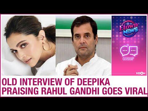 Deepika Padukone praising Rahul Gandhi in old interview goes viral after NCB questioning