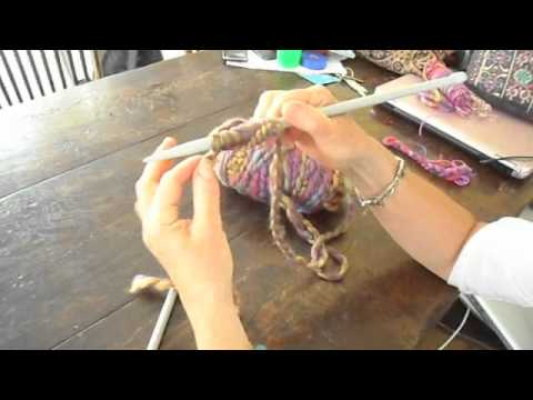 Knitting How To Cast On And Plain Knit Stitch Youtube